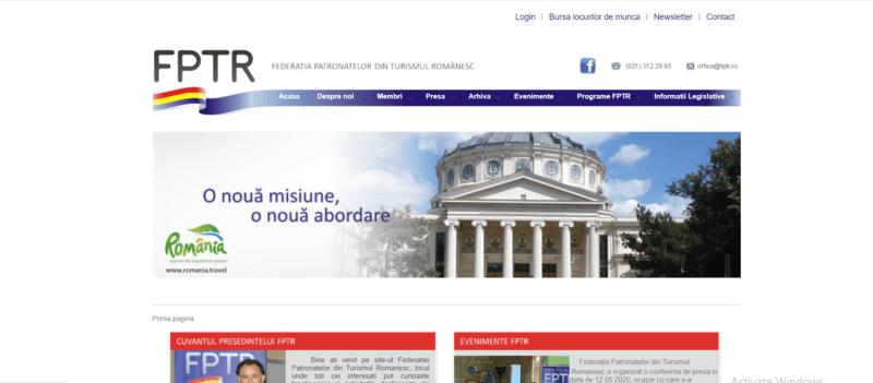 site fptr - fptr.ro