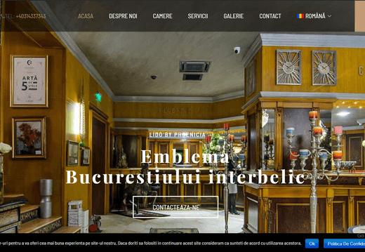 site hotel lido - lido.ro